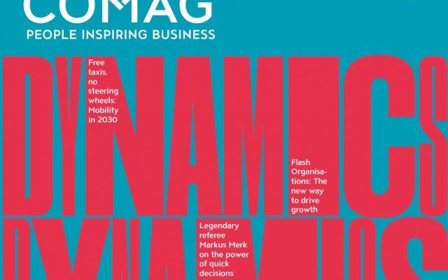 freie Texterin Nadine Landeck macht Redaktion Corporate Publishing für Comag