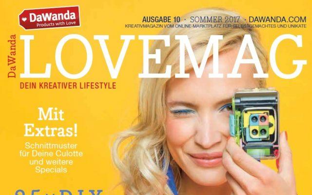 freie Texterin Nadine Landeck macht Redaktion Corporate Publishing für Dawanda Lovemag