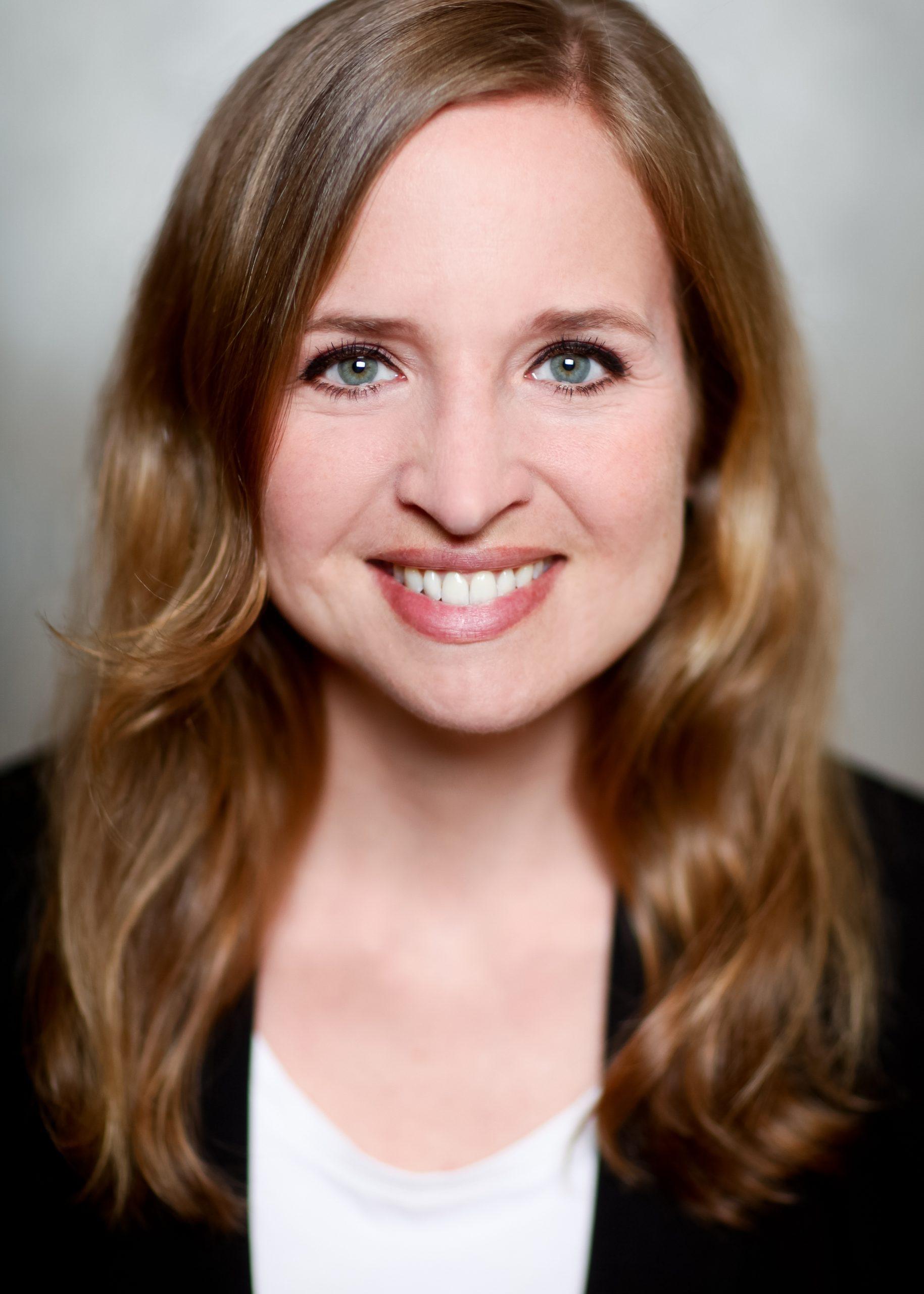 Nadine Landeck Porträtfoto Close-up Gesicht