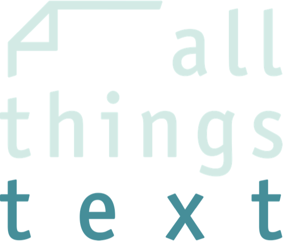 all things text